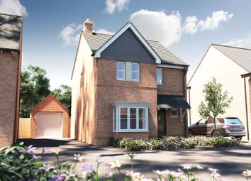 """Thumbnail 3 bed detached house for sale in """"The Whitfield"""" at Winchester Road, Boorley Green, Botley"""