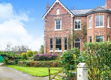 Thumbnail 6 bed semi-detached house for sale in Brooklyn Crescent, Cheadle