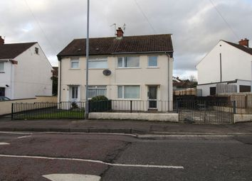 Thumbnail 2 bedroom semi-detached house to rent in Cherryhill Road, Dundonald, Belfast