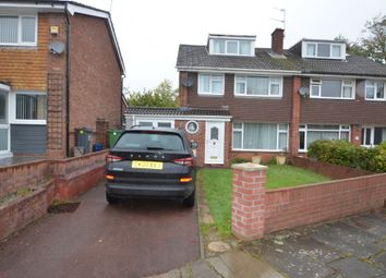 Thumbnail 4 bed semi-detached house to rent in Cwm Nofydd, Rhiwbina, Cardiff