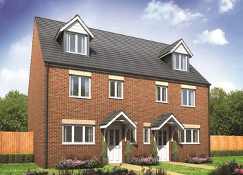 "Thumbnail 4 bed end terrace house for sale in ""The Leicester"" at Churchfields, Hethersett, Norwich"