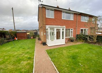 Thumbnail 3 bed semi-detached house for sale in Ashwood Close, Market Drayton