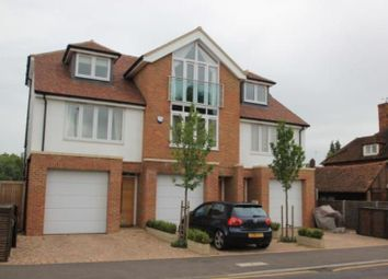 Thumbnail 4 bed terraced house to rent in Camphill Road, West Byfleet, Surrey