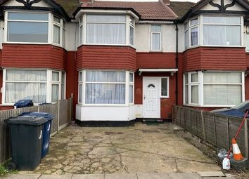 Thumbnail 3 bed terraced house to rent in Bideford Avenue, Perivale, Greenford