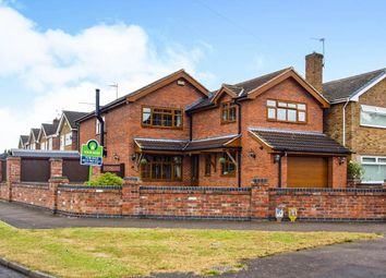 Thumbnail 4 bedroom detached house for sale in Hayden Lane, Hucknall, Nottingham