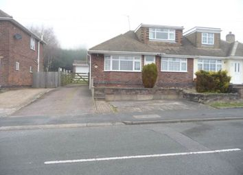 Thumbnail 3 bed semi-detached bungalow to rent in St Bernards Road, Whitwick, Coalville
