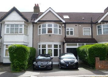 Thumbnail 4 bed terraced house for sale in Vaughan Gardens, North Ilford