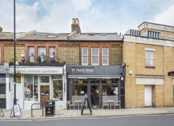 Thumbnail 3 bed flat for sale in North Street, London