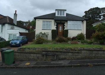 Thumbnail 4 bed bungalow to rent in Killermont Road, Bearsden, Glasgow