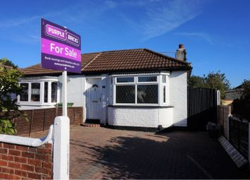 Thumbnail 1 bed semi-detached bungalow for sale in Revesby Avenue, Grimsby