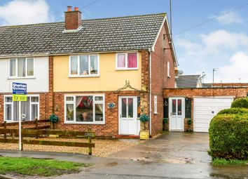 Thumbnail 3 bed semi-detached house for sale in Badgeney Road, March