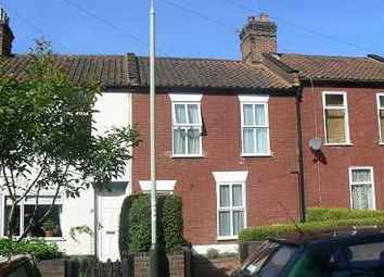 Thumbnail 2 bed terraced house to rent in Stones Buildings, Clare Close, Norwich