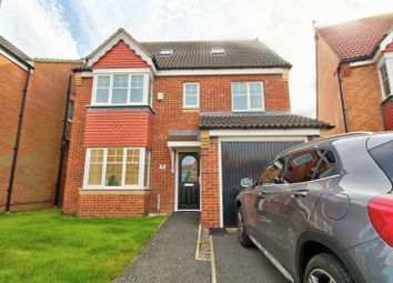 Thumbnail 5 bed detached house for sale in Ellesmere Close, Mulberry Park, Houghton Le Spring
