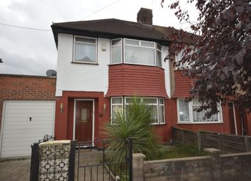 Thumbnail 3 bed semi-detached house to rent in Birkdale Road, London