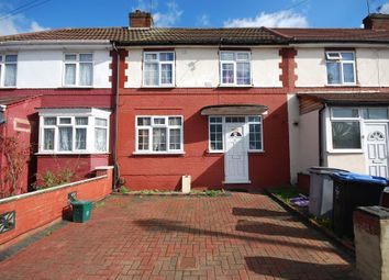 Thumbnail 3 bedroom terraced house to rent in Abbey Avenue, Wembley, Middlesex
