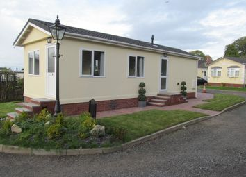 Thumbnail 2 bed mobile/park home for sale in Western Park, Elton Lane, Wheelock Heath, Sandbach, Cheshire