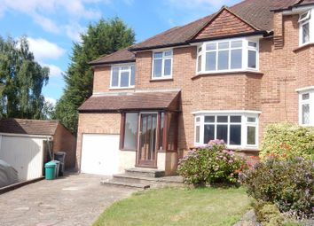 Thumbnail 4 bed semi-detached house to rent in Abbots Green, Croydon