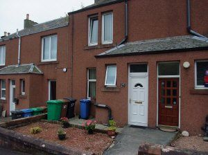 Thumbnail 1 bed flat to rent in Terrace Street, Dysart, Kirkcaldy