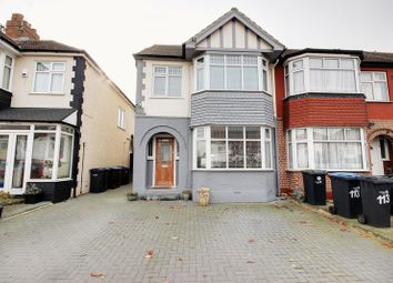 Thumbnail 4 bed terraced house for sale in New Park Avenue, London