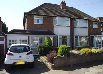 Thumbnail 3 bed semi-detached house for sale in Twycross Grove, Hodge Hill, Birmingham