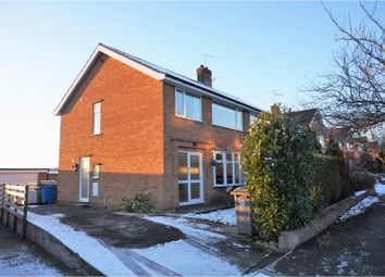 Thumbnail 3 bed semi-detached house for sale in St. Philips Drive, Hasland, Chesterfield