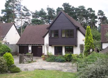 Thumbnail 4 bed detached house to rent in Youlden Drive, Camberley