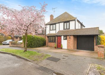 Thumbnail 4 bed detached house for sale in Greenmeads, Woking