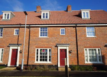 Thumbnail 3 bedroom terraced house for sale in Simpson Way, Barrow, Bury St. Edmunds