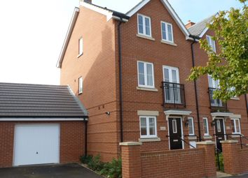 Thumbnail 4 bed town house to rent in Sherbourne Drive, Old Sarum, Salisbury