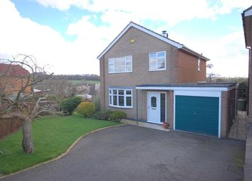Thumbnail 3 bed detached house for sale in Pinewood Road, Belper