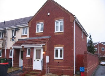 Thumbnail 3 bed end terrace house to rent in Cardinals Close, Donnington Wood, Telford
