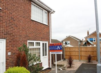Thumbnail 2 bed town house for sale in Barlow Drive South, Awsworth