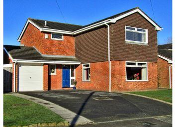 Thumbnail 4 bed detached house for sale in Fields Drive, Sandbach