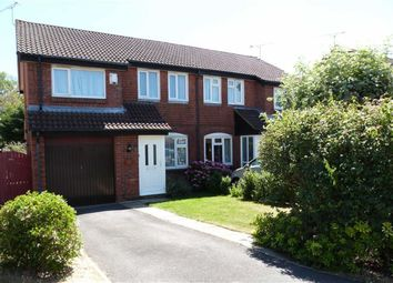 Thumbnail 3 bedroom semi-detached house for sale in Conyers Close, Grange Park, Swindon