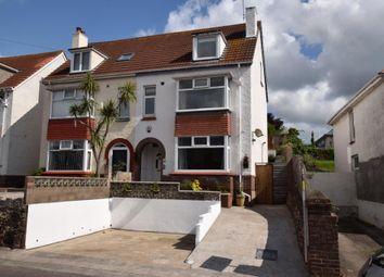 Thumbnail 5 bed semi-detached house for sale in Higher Polsham Road, Paignton, Devon