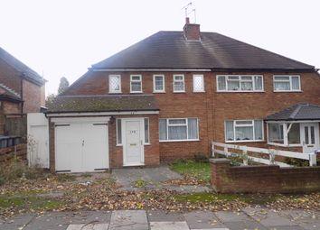Thumbnail 3 bed semi-detached house for sale in Trittiford Road, Billesley, Birmingham