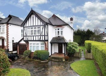 Thumbnail 4 bed detached house to rent in Princes Avenue, Woodford Green, Essex
