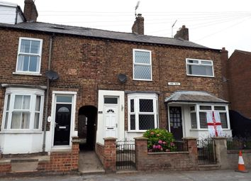 Thumbnail 2 bed terraced house to rent in York Road, Driffield