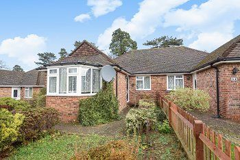 Thumbnail 3 bed semi-detached bungalow for sale in Heathcote Drive, East Grinstead, West Sussex