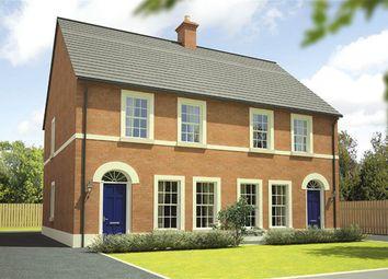 Thumbnail 3 bed semi-detached house for sale in Glen Corr Meadows, Newtownabbey