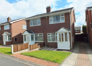 Thumbnail 2 bed semi-detached house to rent in Whitehill Road, Kidsgrove, Stoke-On-Trent