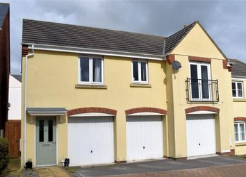 Thumbnail 2 bed semi-detached house for sale in Hawkins Way, Helston