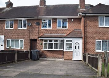 Thumbnail 2 bedroom terraced house for sale in Reservoir Road, Selly Oak, Birmingham
