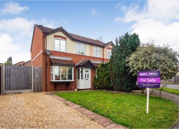 Thumbnail 3 bed semi-detached house for sale in College Close, Horncastle