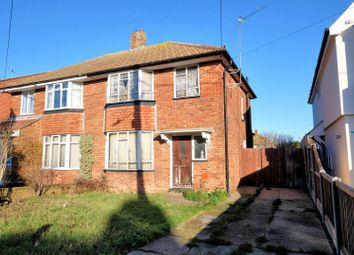 Thumbnail 3 bed semi-detached house for sale in Bridgefield Road, Whitstable