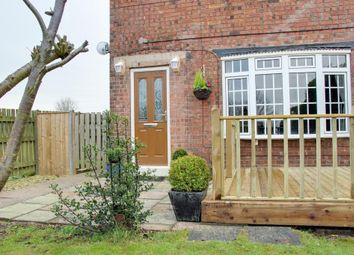 Thumbnail 2 bedroom semi-detached house for sale in North Cave Road, Hotham, York