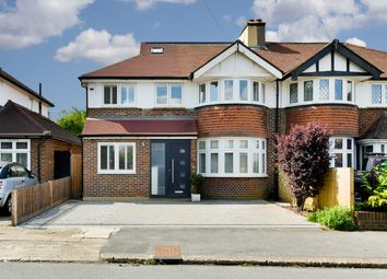 Thumbnail 4 bed semi-detached house for sale in The Roystons, Berrylands, Surbiton