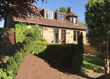 Thumbnail 3 bed semi-detached house for sale in Station Road, Muirhead