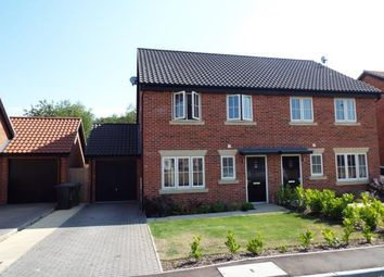 Thumbnail 3 bed semi-detached house for sale in Northrepps, Cromer, Norwich