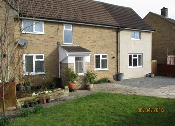 Thumbnail 3 bed semi-detached house to rent in Greetham Road, Cottesmore